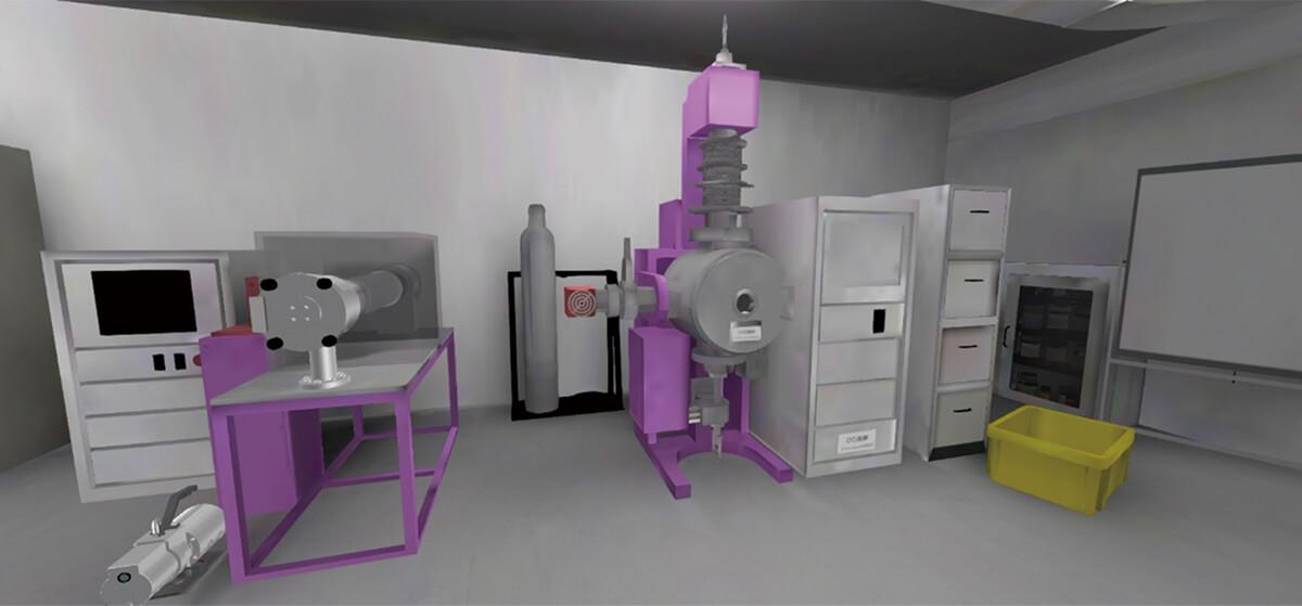 現実の実験室をモデリング