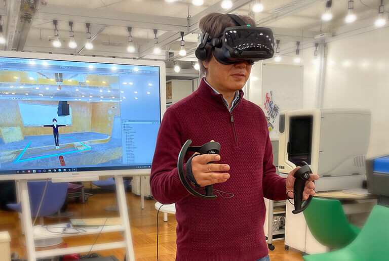 VR講義用動画の制作